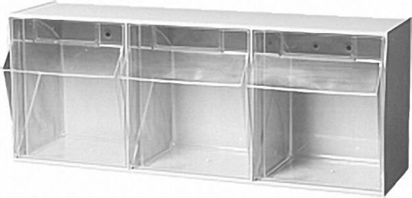 Sichtlagerkasten transparent 3 - fach