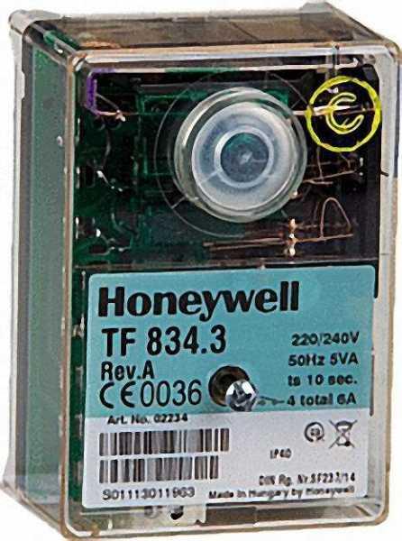 HONEYWELL Steuergerät TF 834. 3