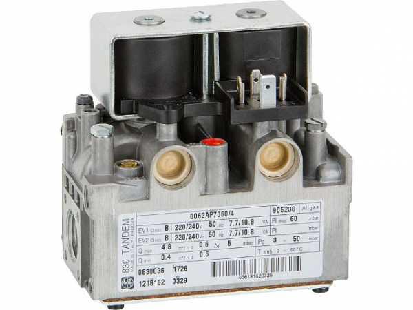 0.830.036 Gas-Kombiventil TANDEM 830 220//240 V 50 Hz Referenz-Nr.