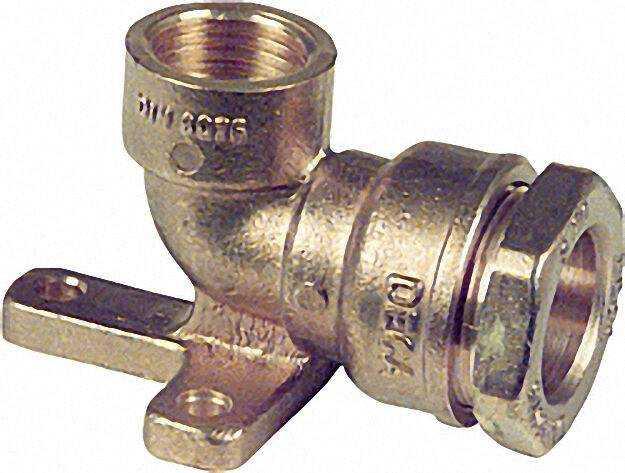 Wandscheibe mit IG Typ 869 3/4''x25mm nicht für Gas geeignet