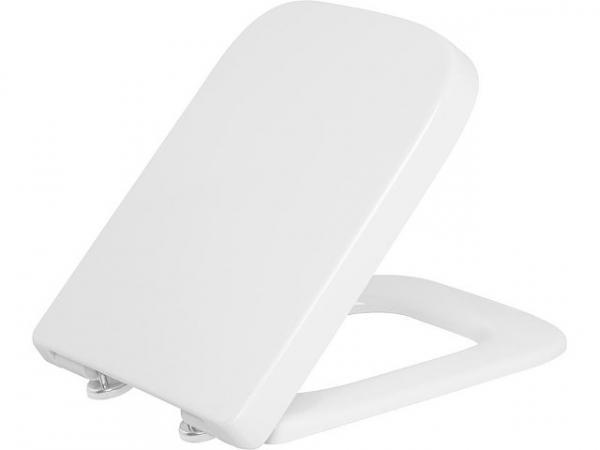 WC-Sitz Enero Edelstahl-Bügelscharnier, Standard, Duroplast