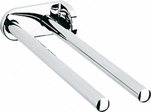 Handtuchhalter, zweiarmig aus Metall, ausziehbar Länge: 400mm