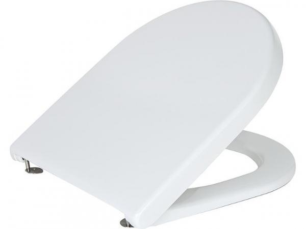 WC Sitz Duravit Starck 3 Standard,weiß,mit Edelstahl- Scharnier,BxHxT:380x30x383mm