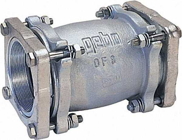 GEBO Temperguss-Klemmverbinder (i/i) Gas PN 1, Wasser PN 16, Typ OF 2 1/2'' (76,1)