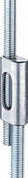 FISCHER Parallelverbinder M 8, Typ PV M 8 VPE 1 Stück