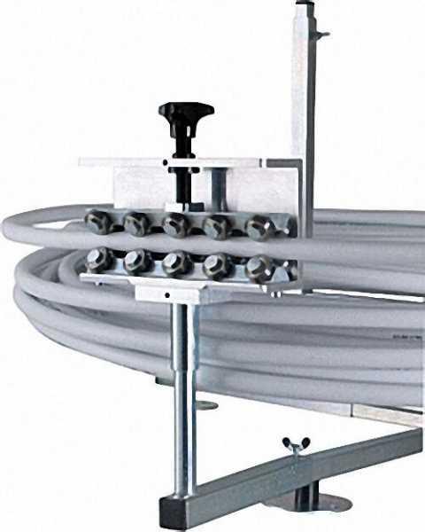Adapter für Rohrrichter an Haspel V-900040 und V-900041
