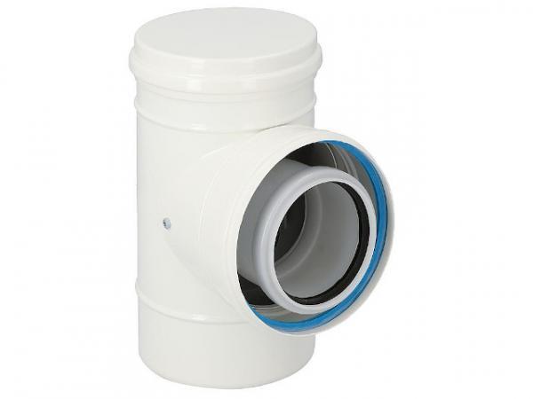 CondensBlue Rückstromsicherung für Mehrfachbelegung AZ DN 80/125