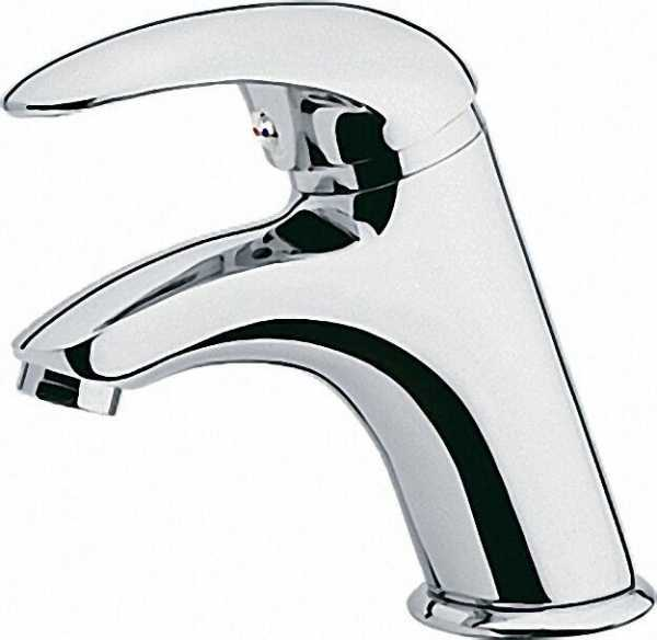 EVENES Waschtisch Einhebelmischer mit Ablaufgarnitur 1 1/4'' Serie Rumba II