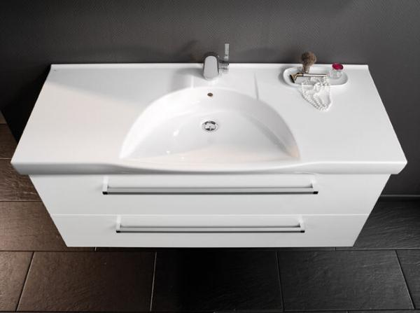 LANZET 7100312 K3 Keramik Waschtisch 122/7/52 weiß