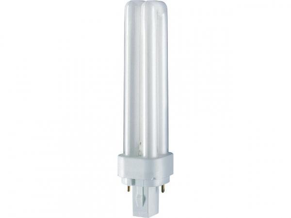 Energiesparlampe Dulux D für KVG 13W/830 Warm White