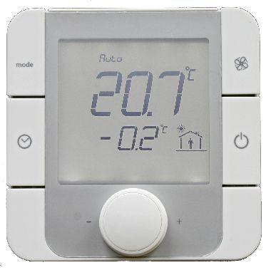 367200 Raumtemperaturregler mit Feuchtesensor zum Anschluss an