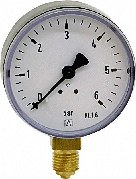 Manometer 0-10 bar 63mm f G 1/4''