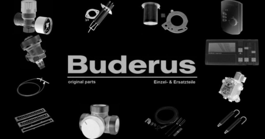 Buderus 63021784 Schwerkraftbremse SVA DN32