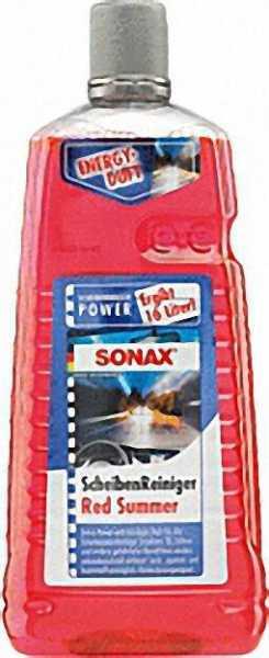 SONAX Scheibenreinigungskonzentrat für Scheibenwaschanlagen Inhalt 2 Liter