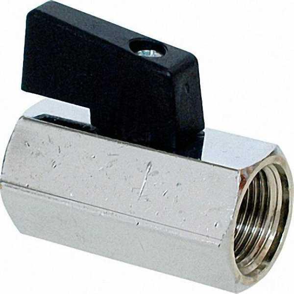 Mini-Kugelhähne mit kurzem Hebel IGxIG 1/4''