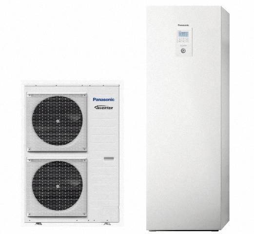 Panasonic Aquarea LT Wärmepumpe Split mit Kombi-Hydromodul, 12,0kW, 400V, KIT-ADC12HE8