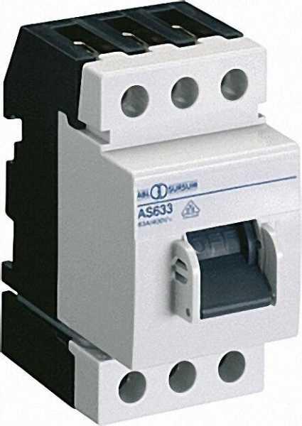 Ausschalter 3-polig 63 A 400V