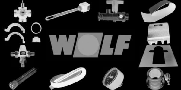 WOLF 8901306 Konsole Regelung verzinkt