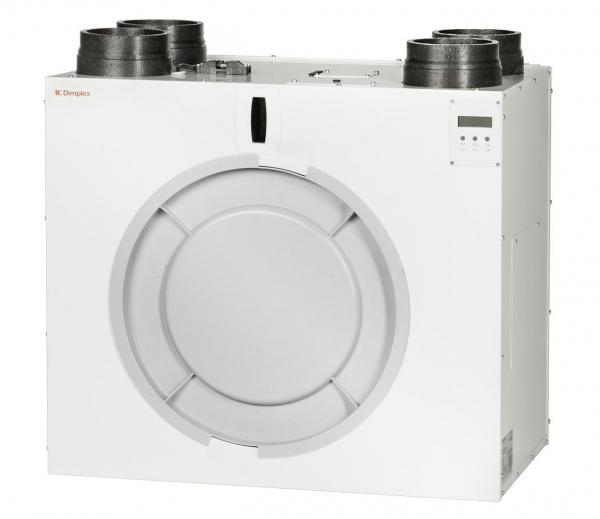 DIMPLEX 364400 ZL400VF Zentrales Wohnungslüftungsgerät mit Wärmerückgewinnung