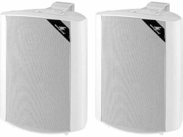 2-Wege Lautsprecherboxset 60W, weiß