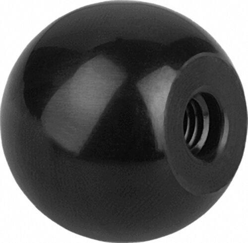 Kugelknopf mit Kunststoff- Gewinde, Innengewinde M 10, Form C, Durchmesser 32mm