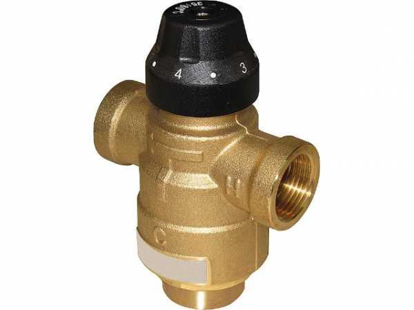 Thermomischer Easyflow Typ 720, DN15, 35-60°C, kv 1,5 Anschlüsse: IG DN15 (1/2')