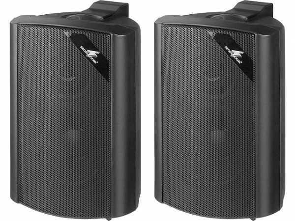 2-Wege Lautsprecherboxset 30W, schwarz