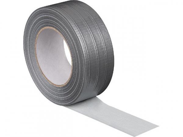 PE Gewebeklebeband silber 50 mmx50 m