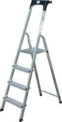 Stufen-StehLeiter Arbeitshöhe 3, 50 Standhöhe 1, 50 Lönge 2, 30 Stufen 7