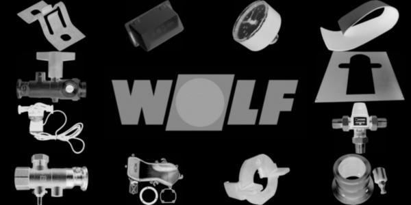 WOLF 8907183 Verkleidung oben, Weiß