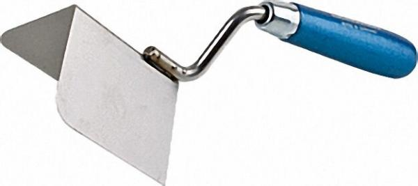 Eckkelle außen 90° 80x60mm rostfrei blaues Heft
