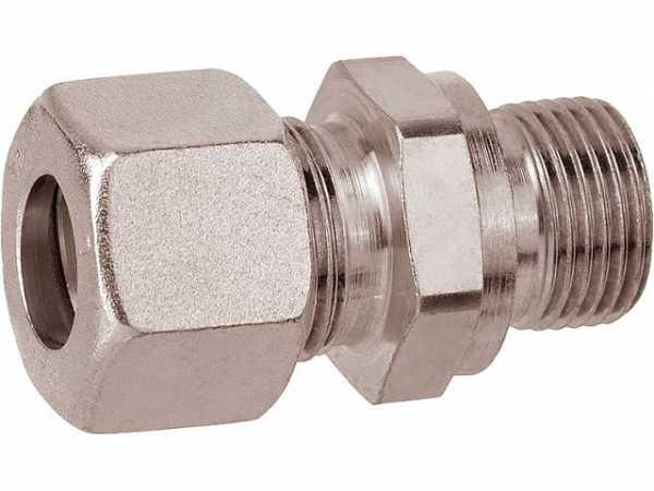 Schneidringverschraubung 1//8 AG x 5 mm mit zylindrischem Gewinde