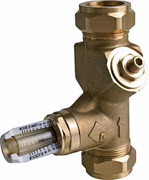 Strangregulierventil WattFlow BP beidseitig Klemmverschraubung SRV-KVSR DN 15 15/22mm 0, 5-7 L