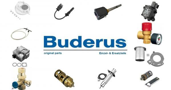 """Buderus 8718581376 Passstück DN50 - G 1 1/2"""", PN6, 182 mm"""