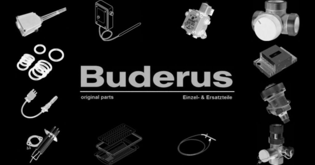 Buderus 87182216630 Manometer 10 bar, 1/4