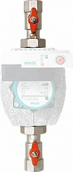 Vorlaufset Easyflow R1 1/4''xF1'' mit SKB, ohne Thermometer ohne Isolierung