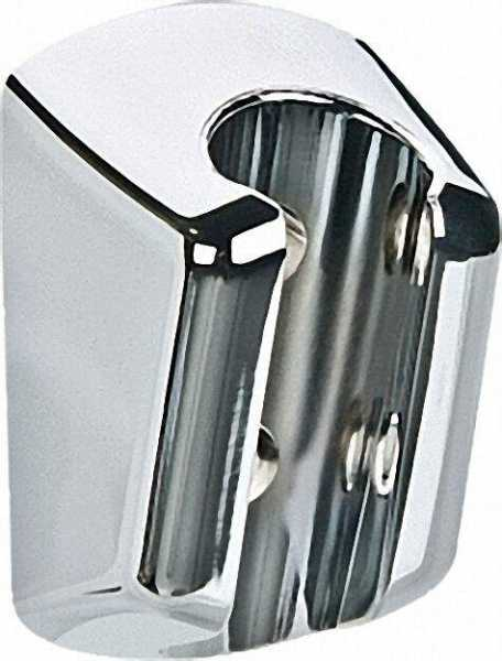 Wandbrausehalter mit konischer Aufnahme aus ABS, chrom
