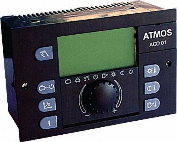 ATMOS 16.01.2010 Heizungsregler ACD 01