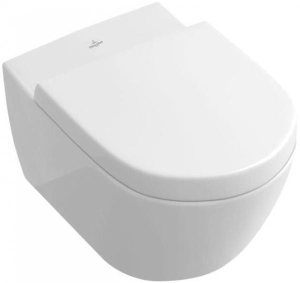 Villeroy & Boch 560010R1 SUBWAY 2.0 Wandtiefspül-WC 560010R1, weiß mit ceramicplus inkl. Befestigung