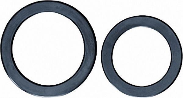 ROTHENBERGER 7061 Gummi-Flansch-Dichtung mit Stahleinlage schwarz 169x218x5mm DIN 2690 für PN 10/16/
