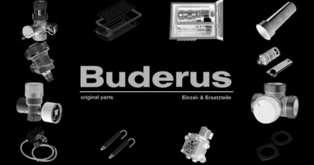 Buderus 7099684 Dichtung Glühzünder-Ionisationselektrode (2 x 5 Stück)