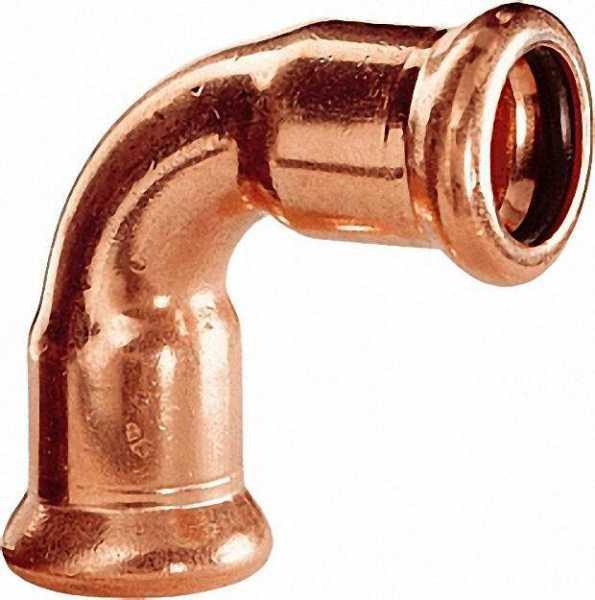 Kupfer Pressfitting Bogen 90° i/i D: 18mm Typ 7002A