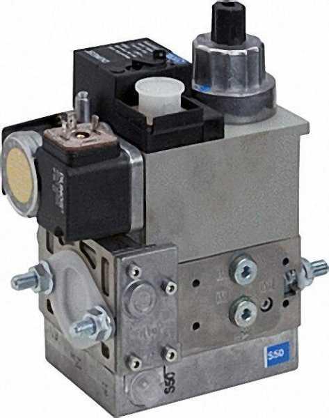 Gas-Multi-Bloc einstufig MB-DLE 405 B 01 S 50 Gewindeflansche Rp 1/2''