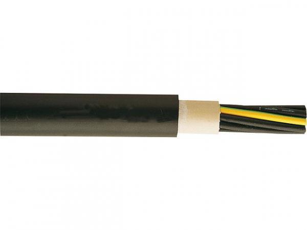 Starkstromkabel 1-30KV, NYY-J, 5x1, 5 RE, sw, Rolle mit 100m