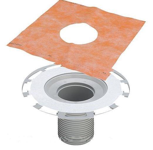 VIEGA Dünnbett-Aufstockelement Advantix Plus 4925, Kunststoff grau