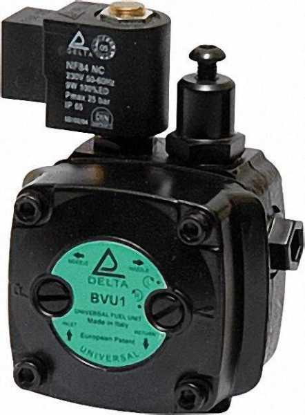 Universal Ölbrennerpumpe Delta Typ B-VU1 biodiesel