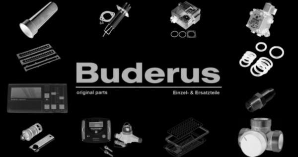 Buderus 8718589974 Abgasstutzen konz 80/125 Gas V2 everp