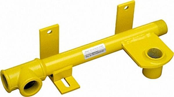Rohr-Anschluss-Einheit RAE mit verstellbarer Wandhalterung passend für G4/NB3-G6/NB6