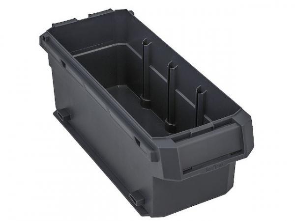 Kunststoffbox SR-BOXX 04-8 M Anthrazit, 347,8x140,7x128mm Sortimo