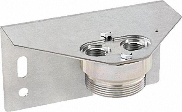 Halterung für 1-Stutzen Gaszähler G2, 5-G4-G6 2''a x 1/2''i, 180° dreh